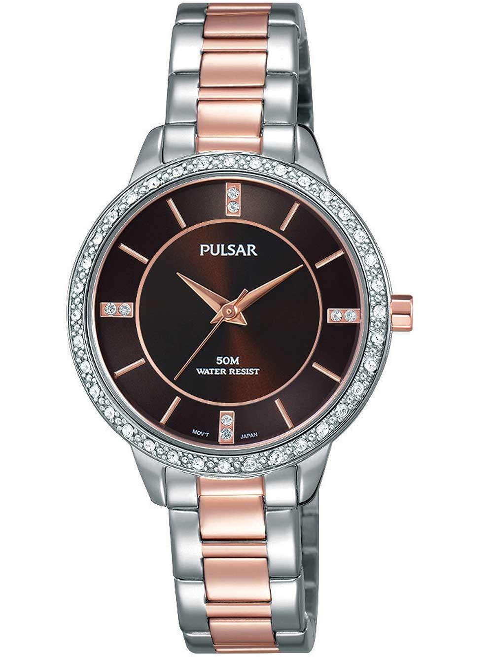 ceas de dama pulsar ph8217x1 swarovski 30mm 5atm