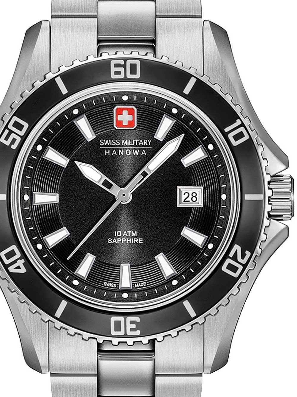 ceas de dama swiss military hanowa 06-7296.04.007 nautila 34mm 10atm