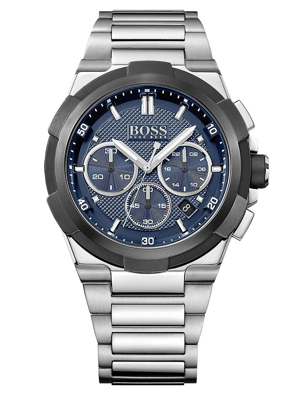 ceas barbatesc hugo boss 1513360 supernova cronograf 46mm 5atm