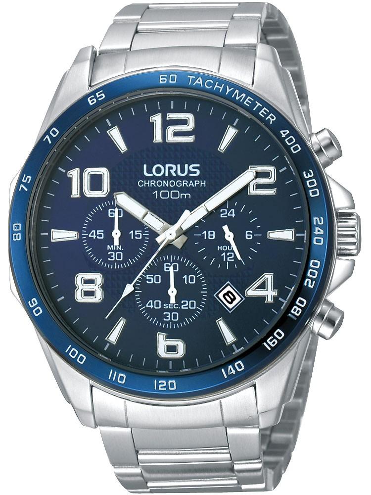 ceas barbatesc lorus rt353cx9 cronograf 10 atm 45 mm