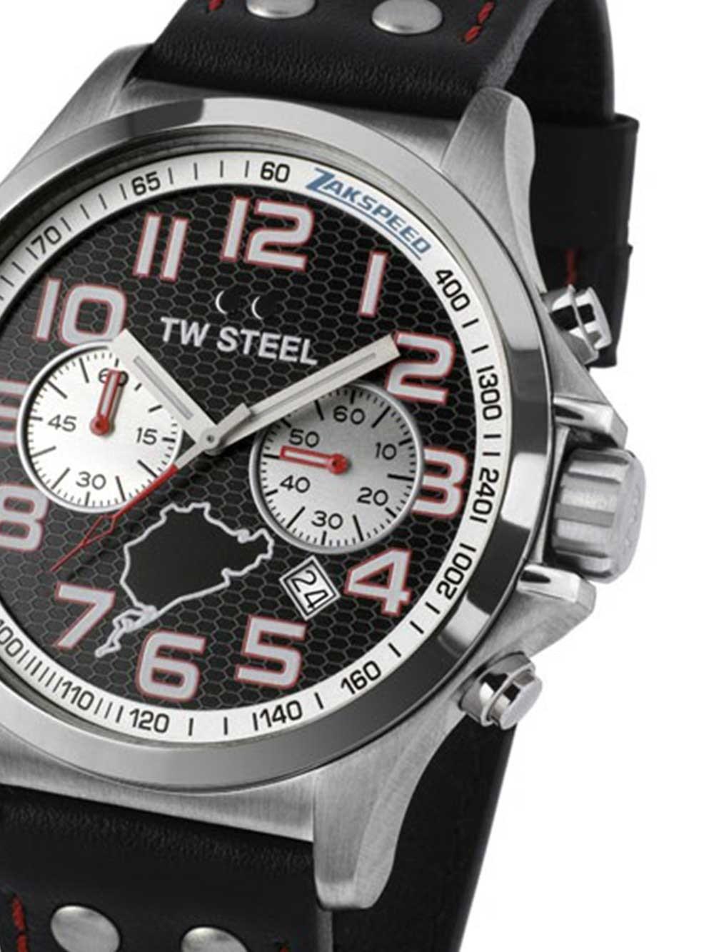 ceas barbati tw-steel tw947 zakspeed x/400 limited chrono 48mm 10atm