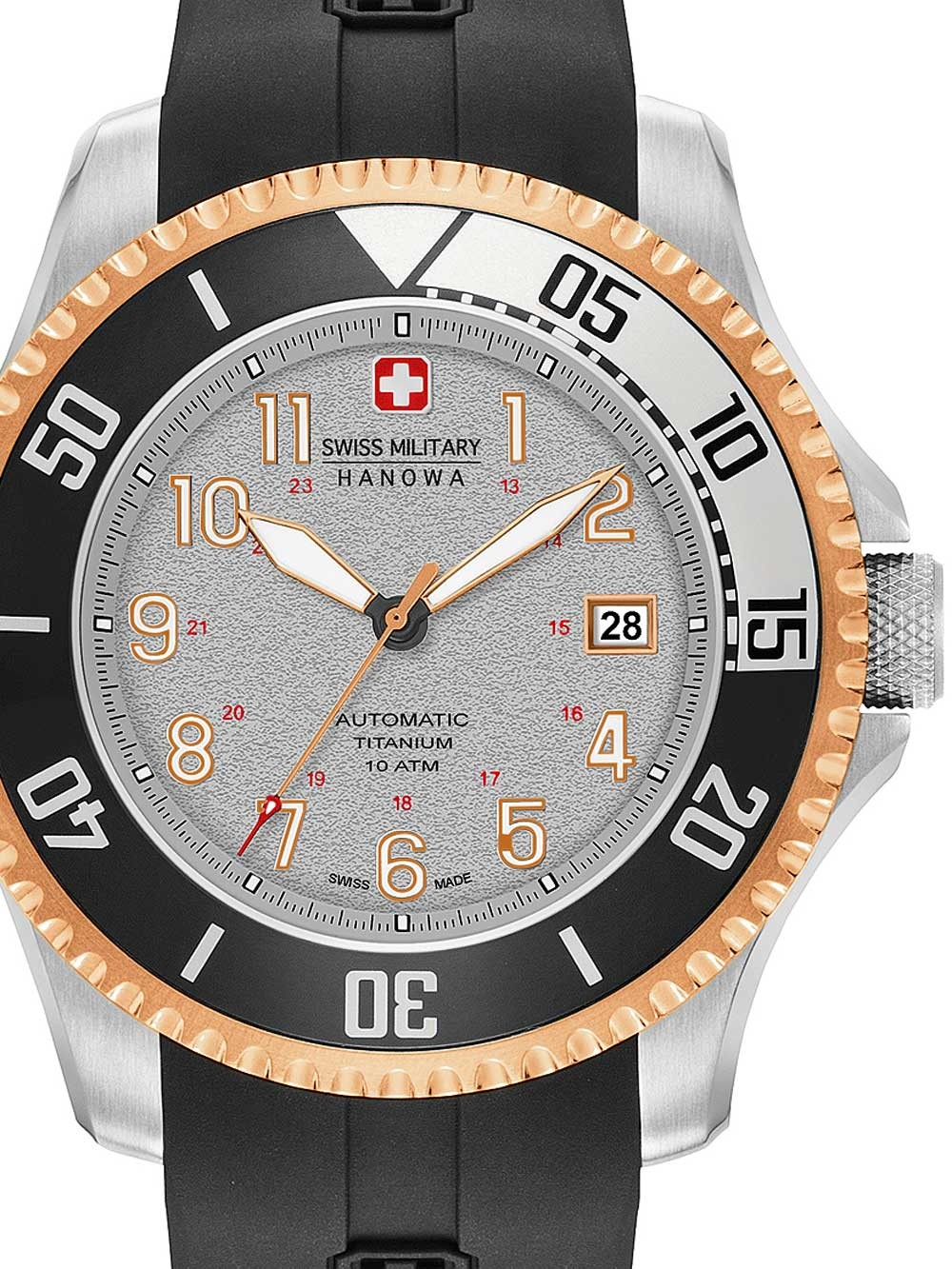 ceas barbatec swiss military hanowa 05-4284.15.009 triton automatic 47mm 10atm