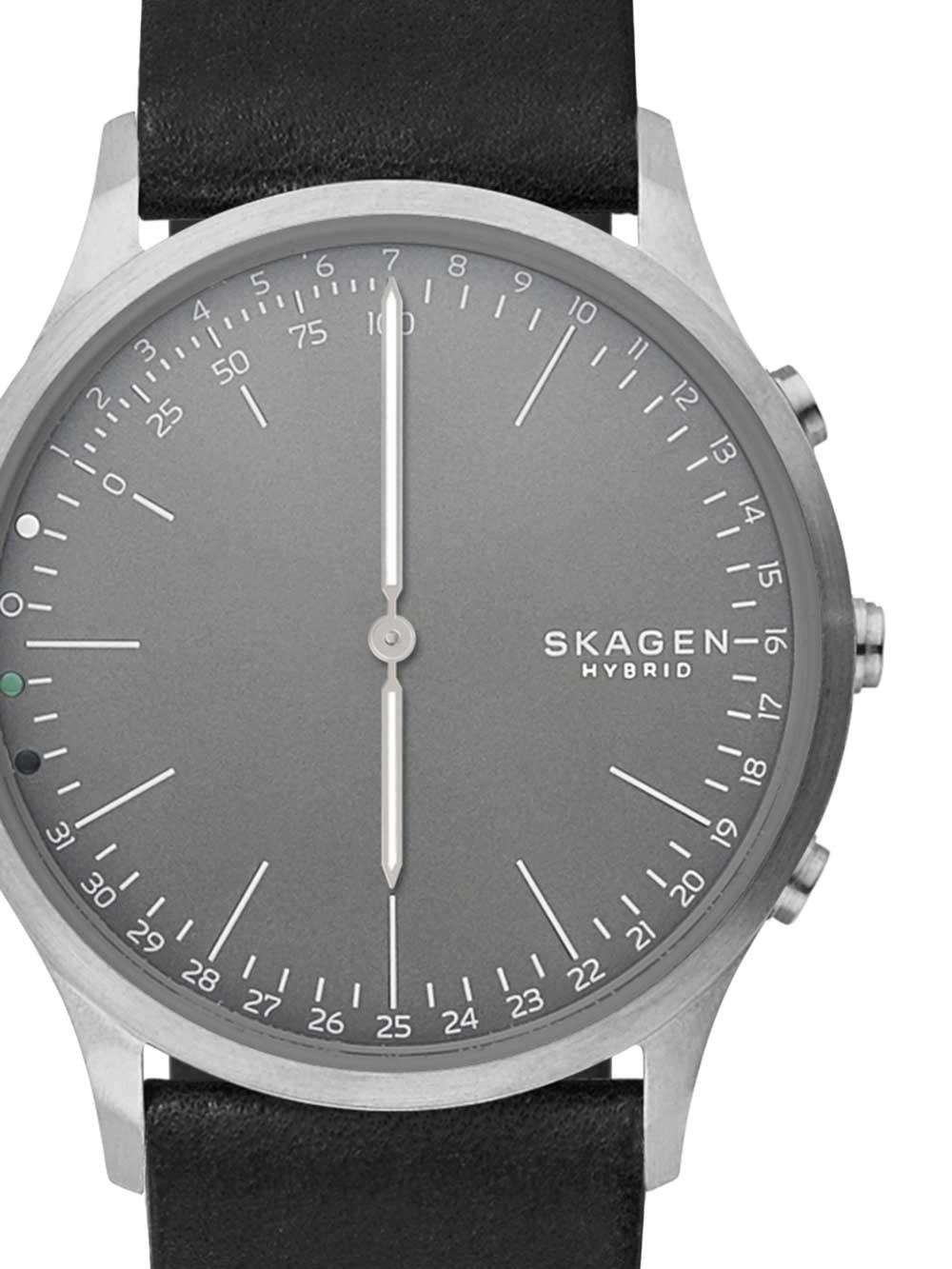 ceas unisex skagen skt1203 ca jorn gray i hybrid smartwatch 42mm 3atm