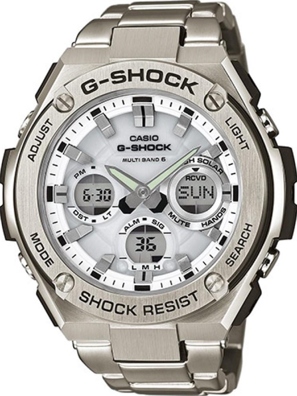 ceas barbatesc casio gst-w110d-7aer g-shock solar 52mm 20atm