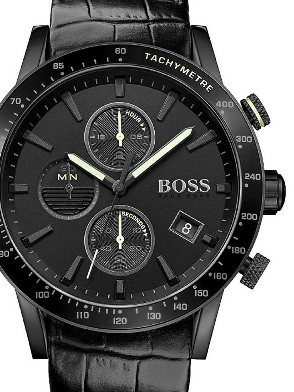 ceas barbatesc hugo boss 1513389 rafale chronograph 44mm 5atm