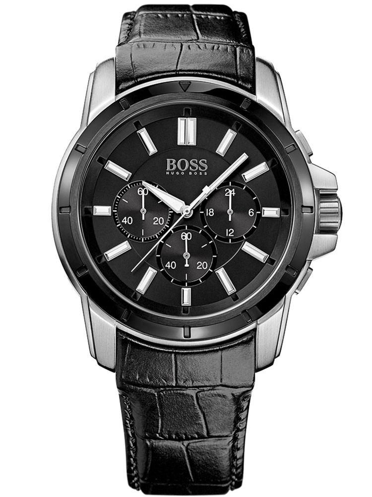 ceas barbatesc hugo boss 1512926 cronograf 46 mm