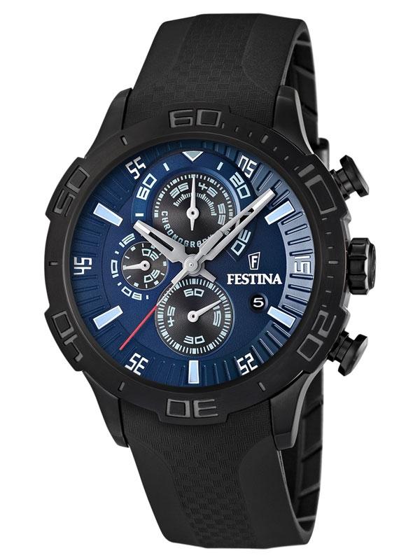 ceas barbatesc festina f16567/4 cronograf