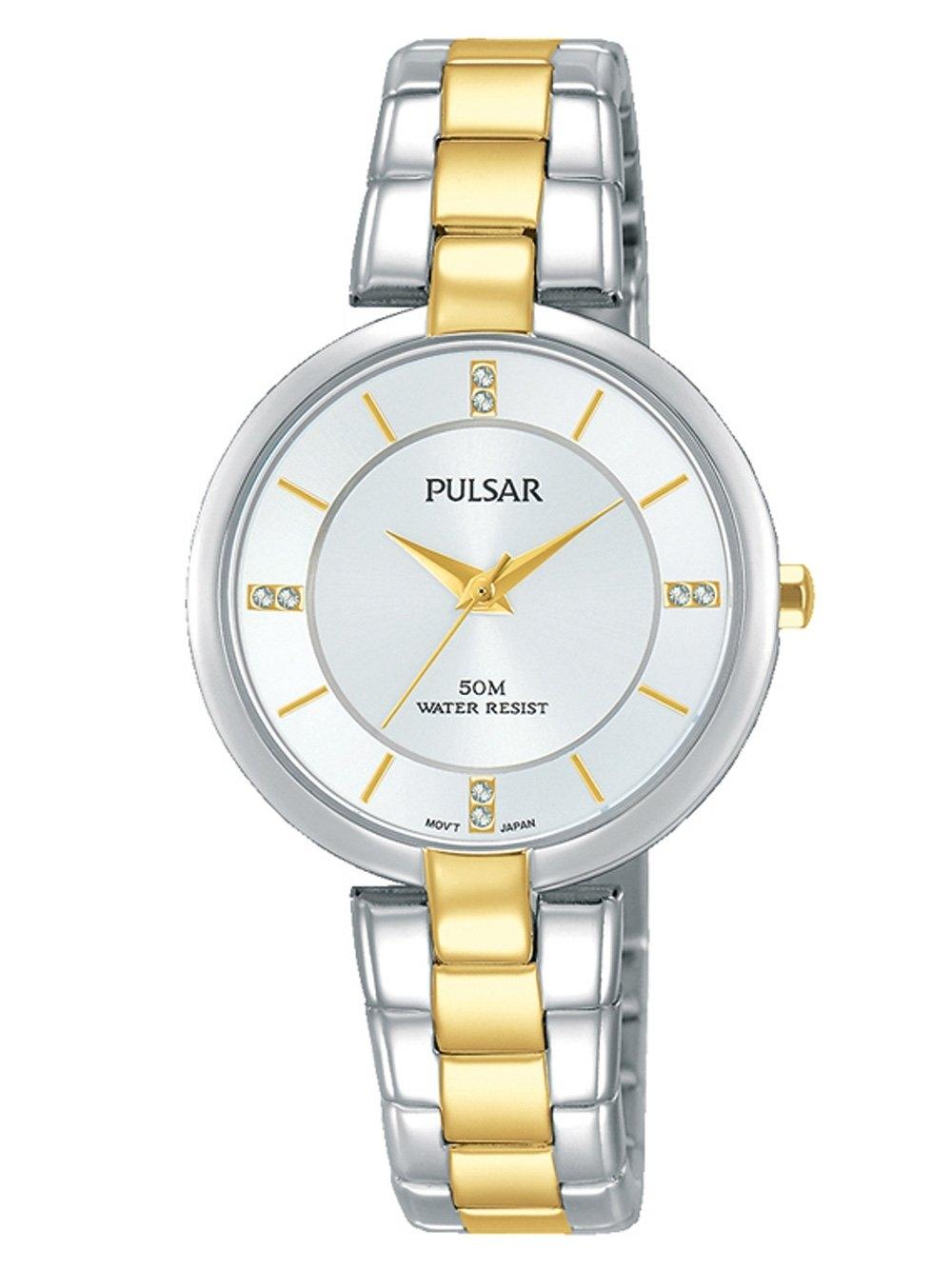 ceas de dama pulsar ph8314x1 klassik 30mm 5atm