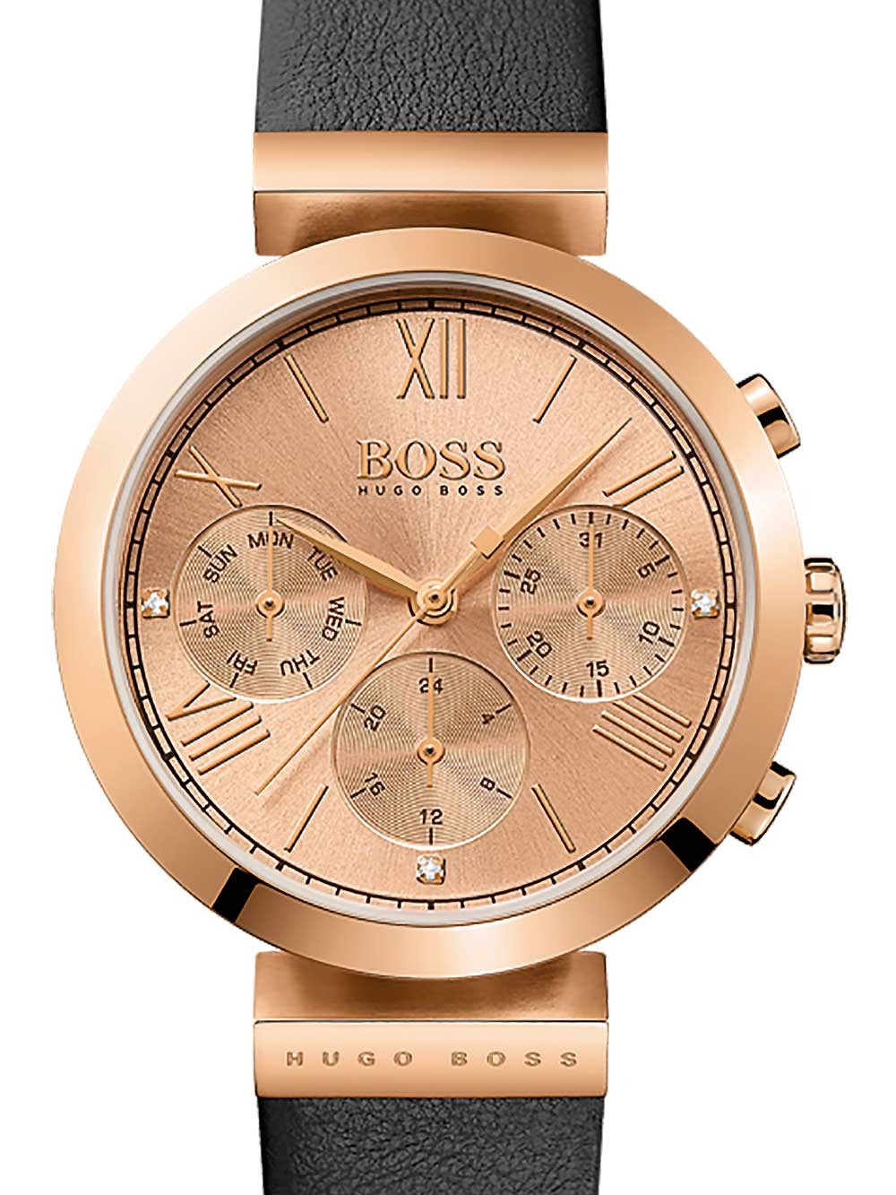 ceas de dama hugo boss 1502397 sport functii multiple 34mm 3atm