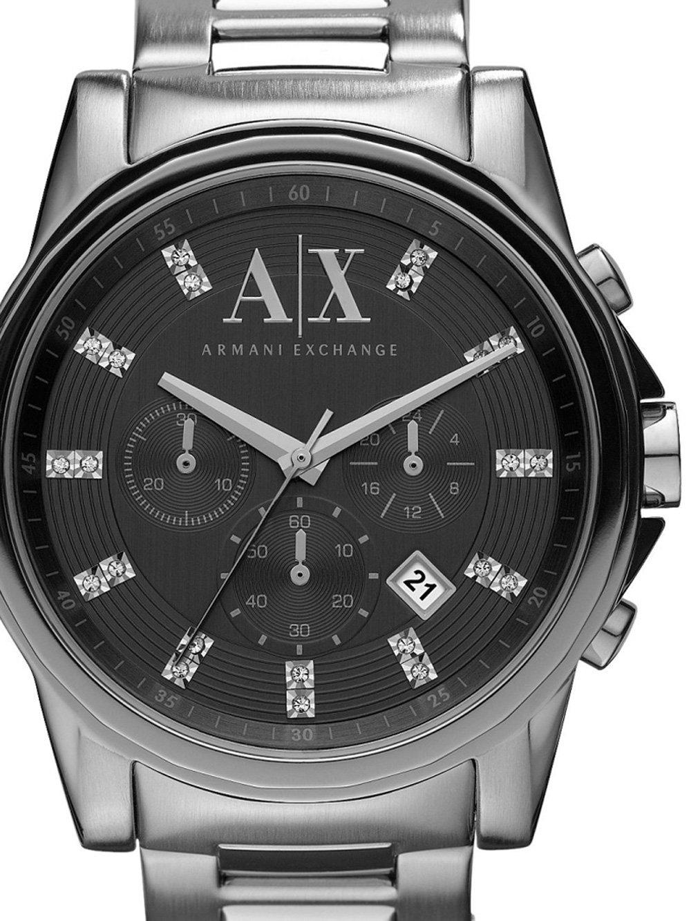 ceas barbatesc armani exchange ax2092 outerbanks chrono 44mm 10atm
