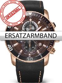 Curea de ceas Perigaum Orbit P-1402-IR-BRBK