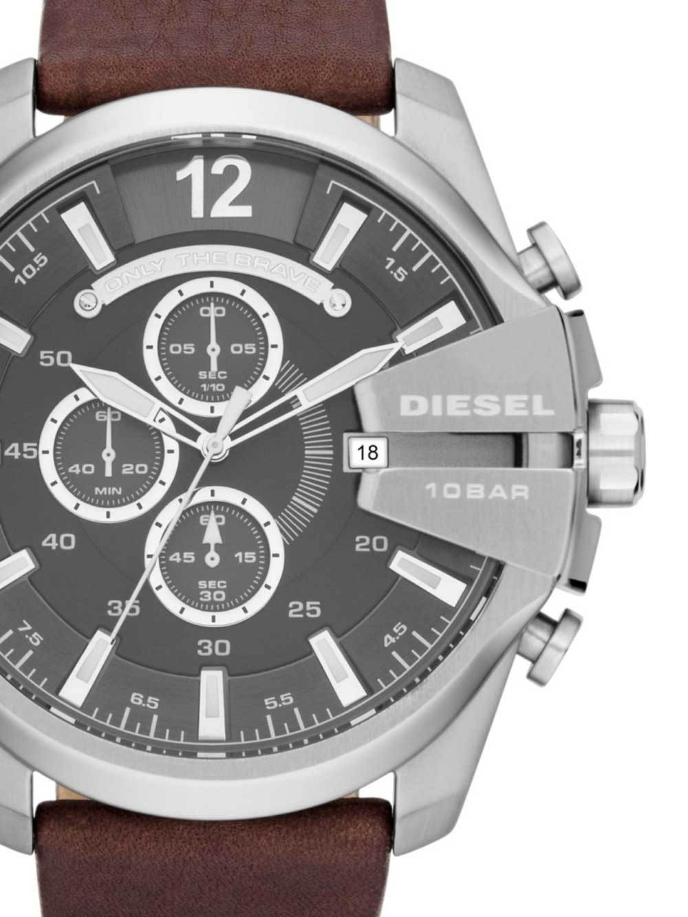 ceas barbati diesel dz4290 mega chief chrono 53mm 10atm