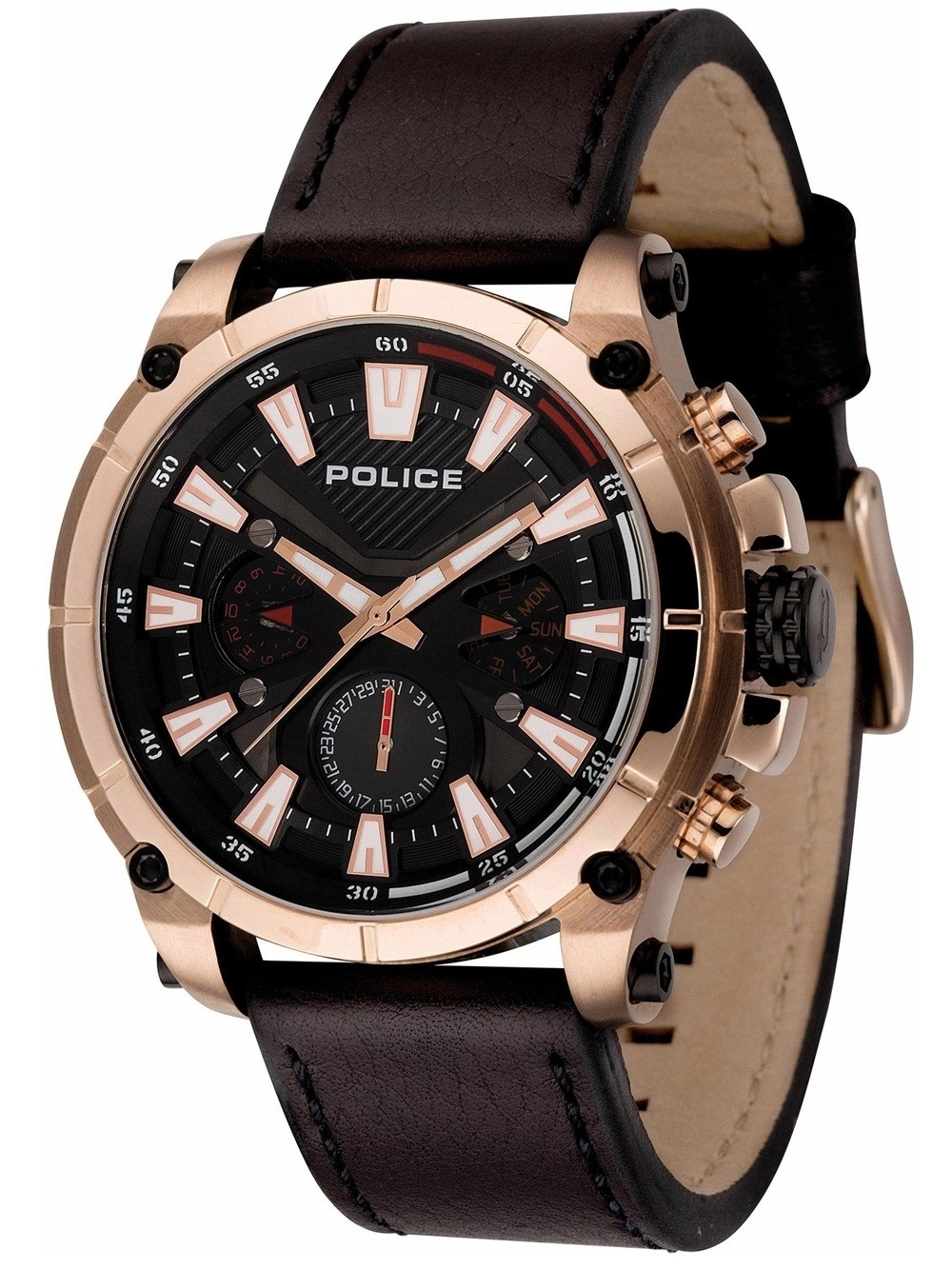 ceas barbatesc police pl14532jsr.02 operator 49mm 5atm