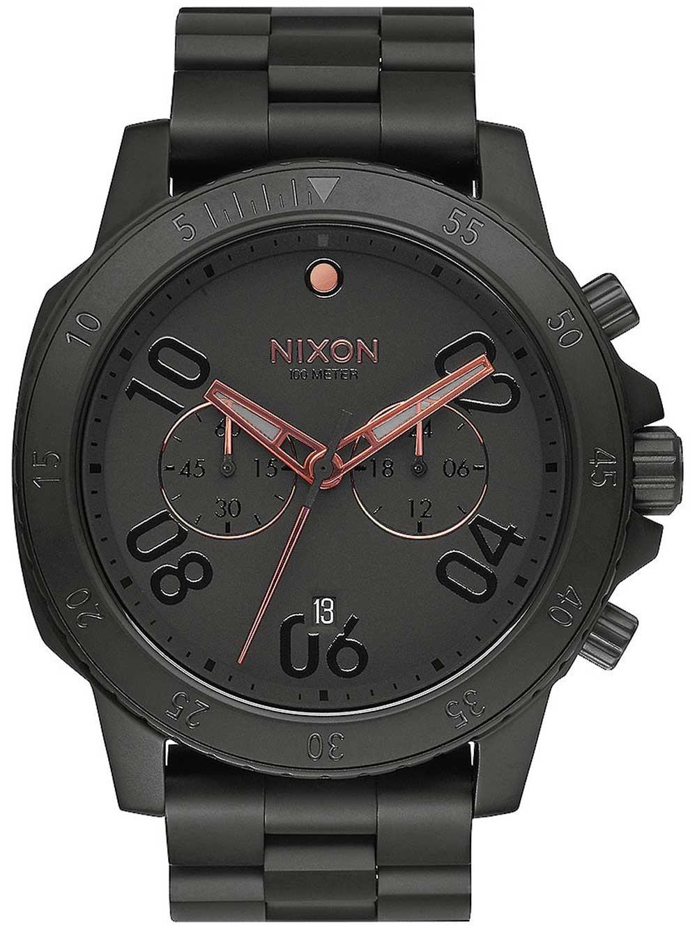 ceas barbatesc nixon a549-957 ranger 44mm 10atm