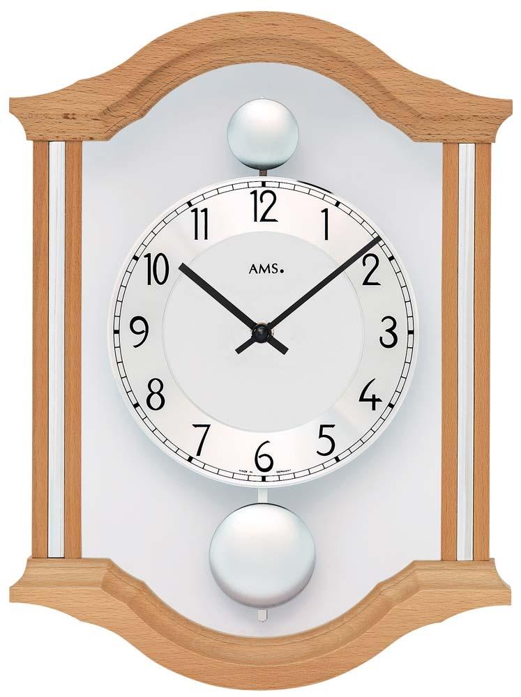 ceas de perete ams 7447/18 - serie: ams design