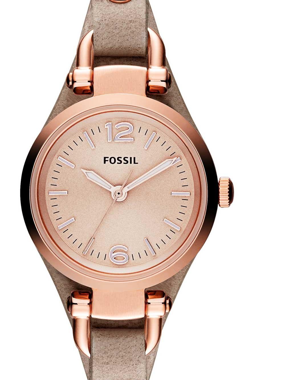 watches chrono12 fossil es3262 georgia damen 26mm 5atm. Black Bedroom Furniture Sets. Home Design Ideas