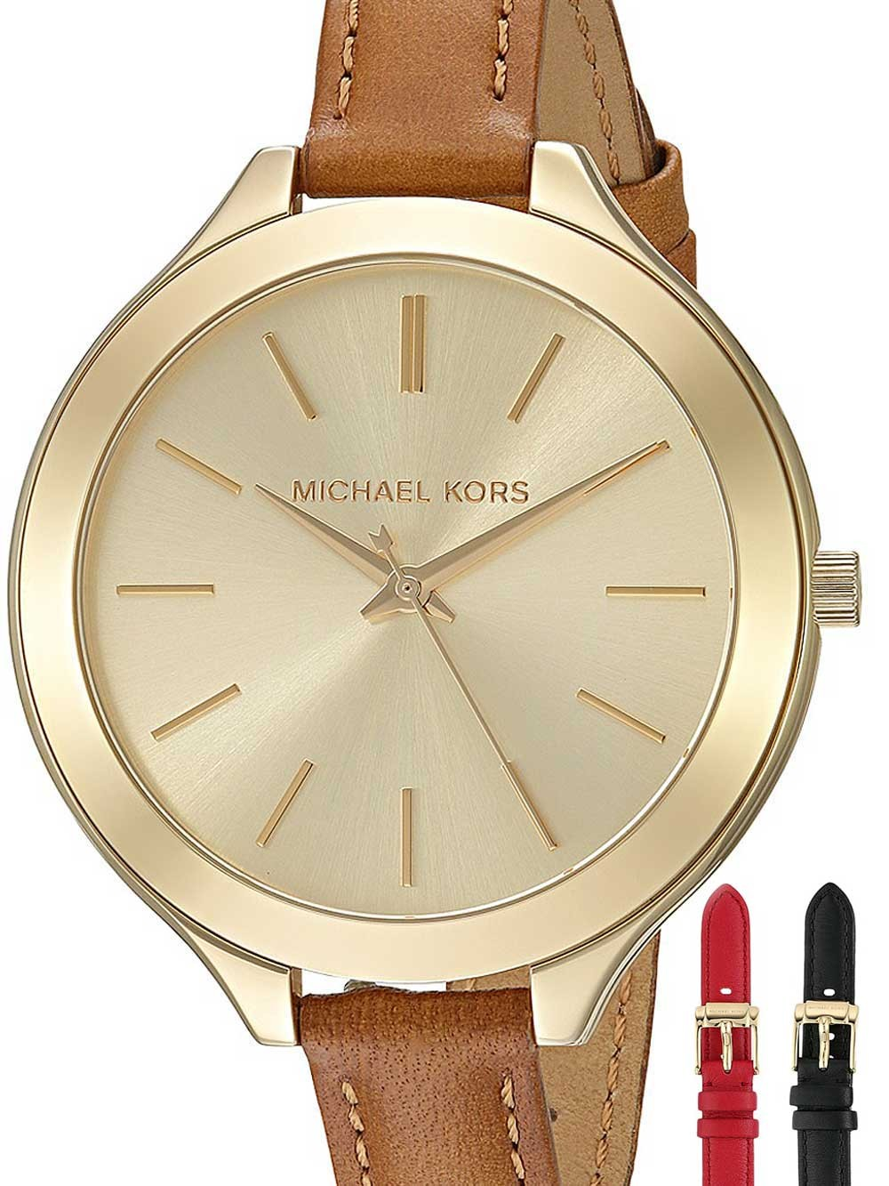 watches chrono12 michael kors mk2606 slim runway uhren. Black Bedroom Furniture Sets. Home Design Ideas