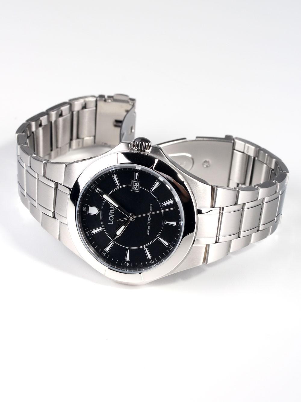 watches chrono12 lorus rh941ex9 sport herrenuhr silber. Black Bedroom Furniture Sets. Home Design Ideas