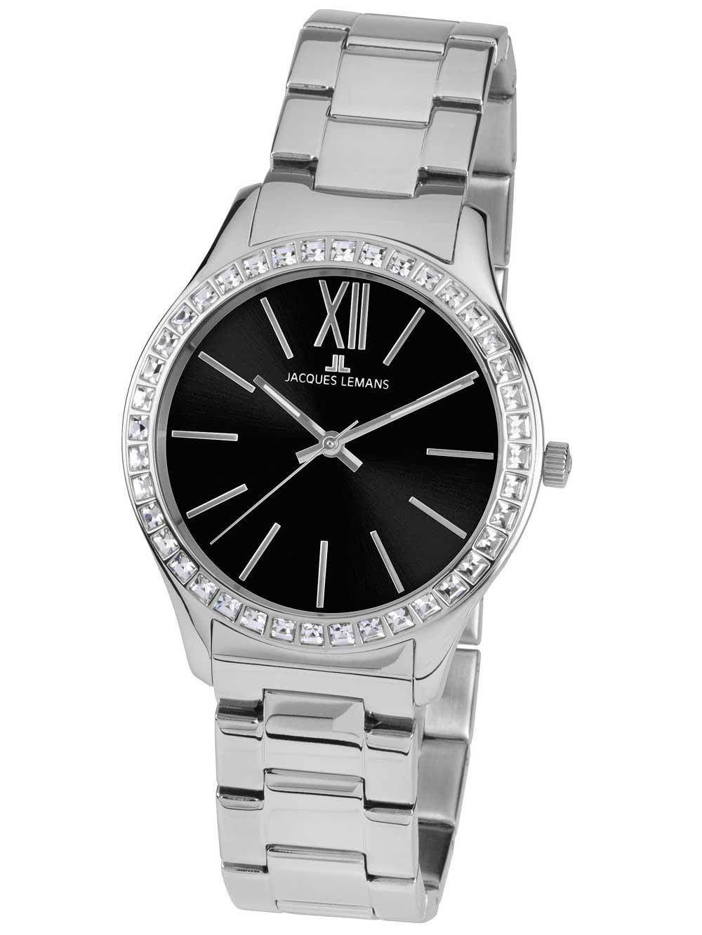 ceas de dama jacques lemans 1-1841e rome 37mm 10atm