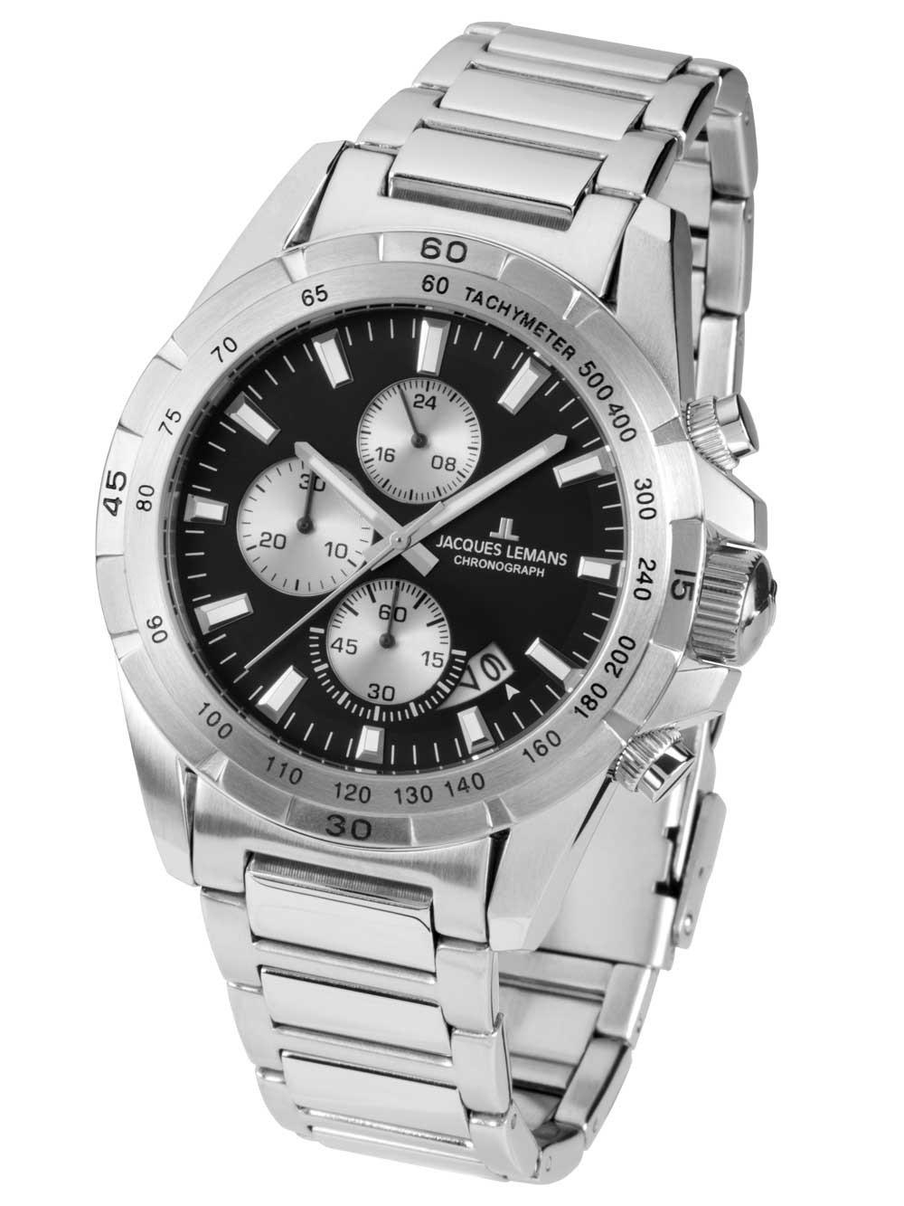 ceas barbati jacques lemans 1-1826d liverpool chrono 43mm 10atm