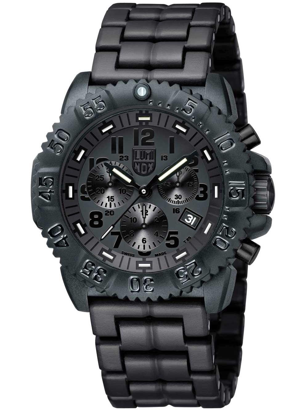 ceas barbatesc luminox a.3082.bo colormark chrono 3080 serie 44mm 200m