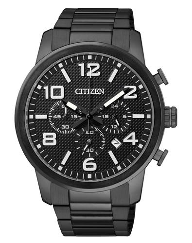 ceas barbatesc citizen an8055-57e sport eco-drive cronograf 42 mm