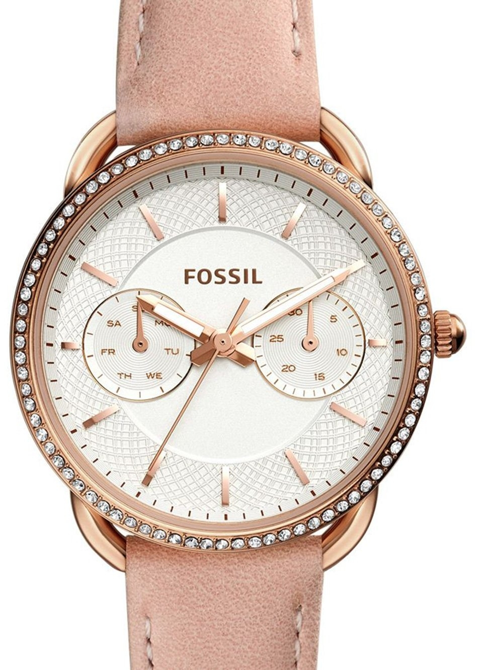 ceas de dama fossil es4393 tailor 34mm 5atm