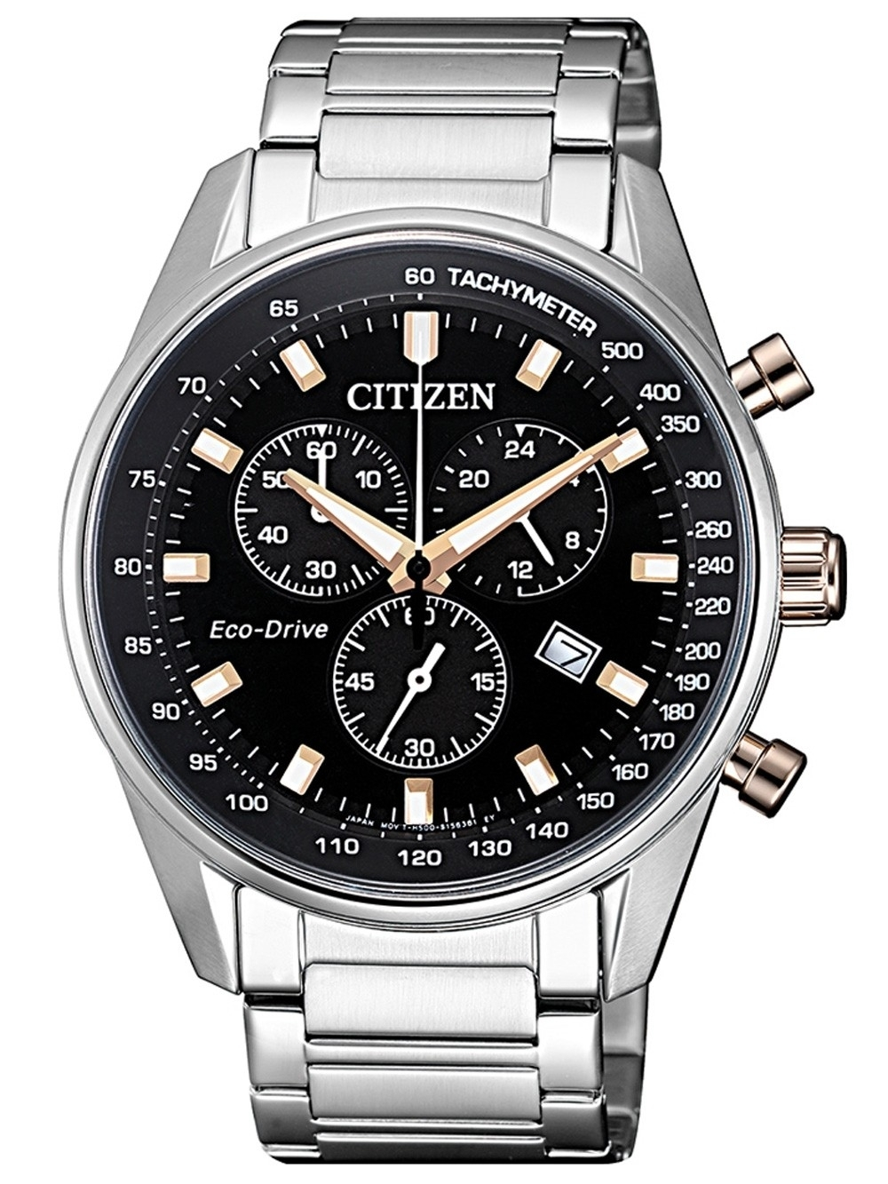 ceas barbatesc citizen at2396-86e eco-drive chrono. 40mm 10atm
