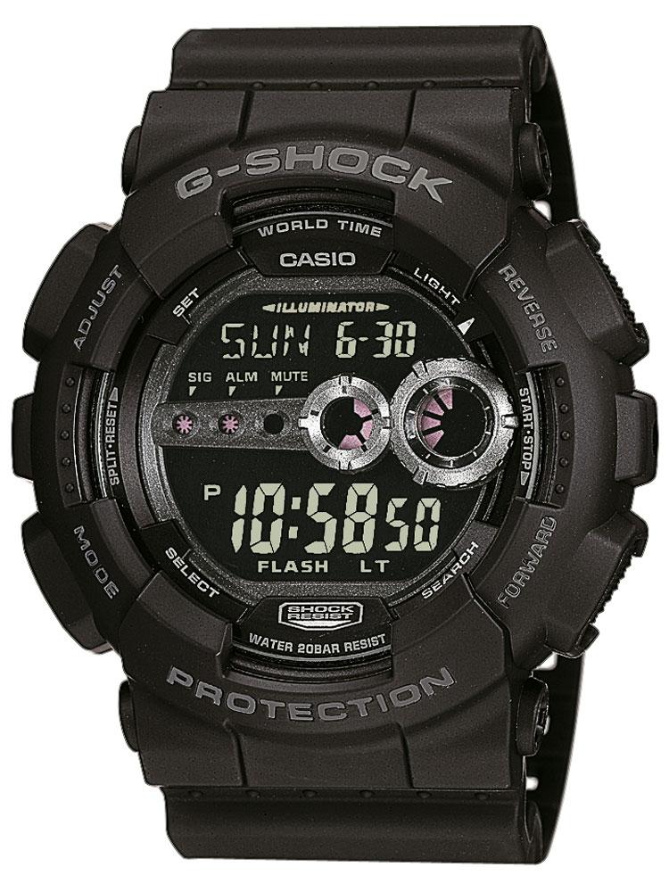 Ceas barbatesc Casio GD-100-1BER G-SCHOCK 20 ATM 51 mm