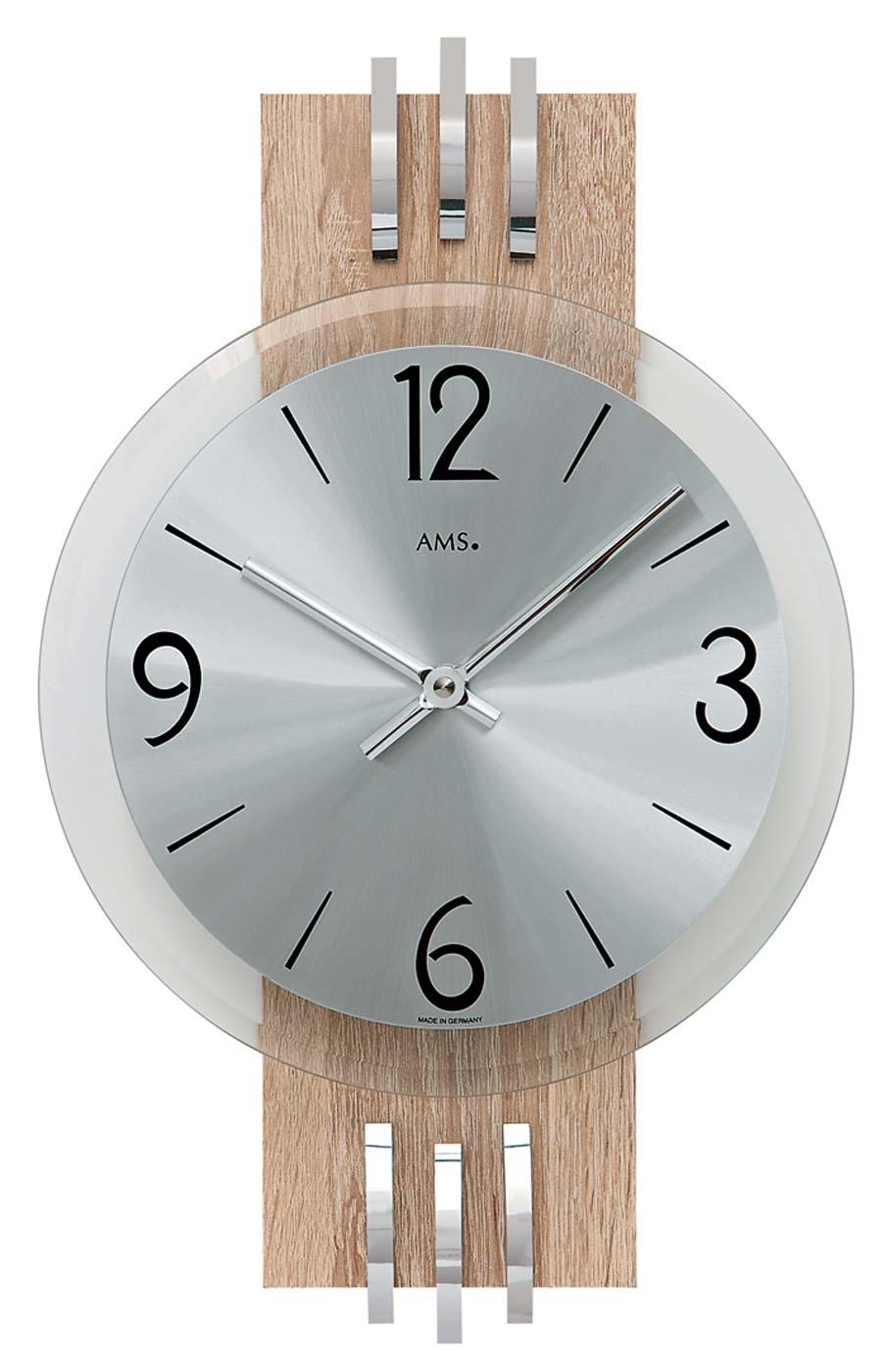 Watches | Chrono12 - AMS 9228 Wanduhr modern - Serie: AMS Wanduhren
