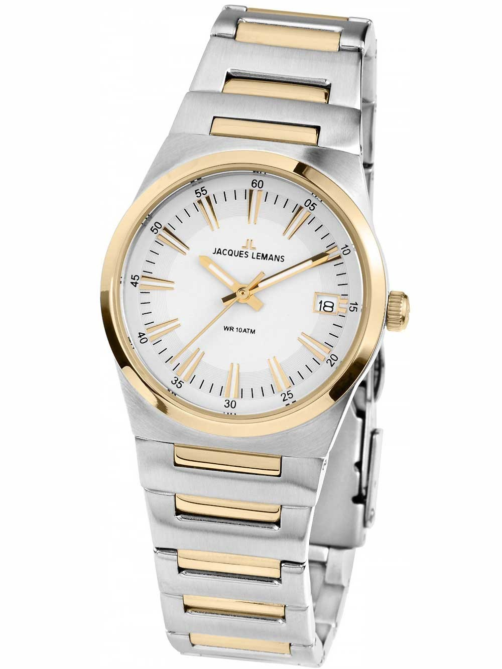 ceas de dama jacques lemans 1-1930d manchester 32mm 10atm