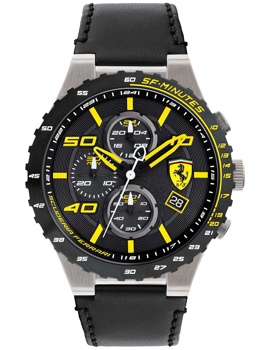 ceas barbatesc scuderia ferrari 0830360 speciale evo cronograf 46mm 5atm