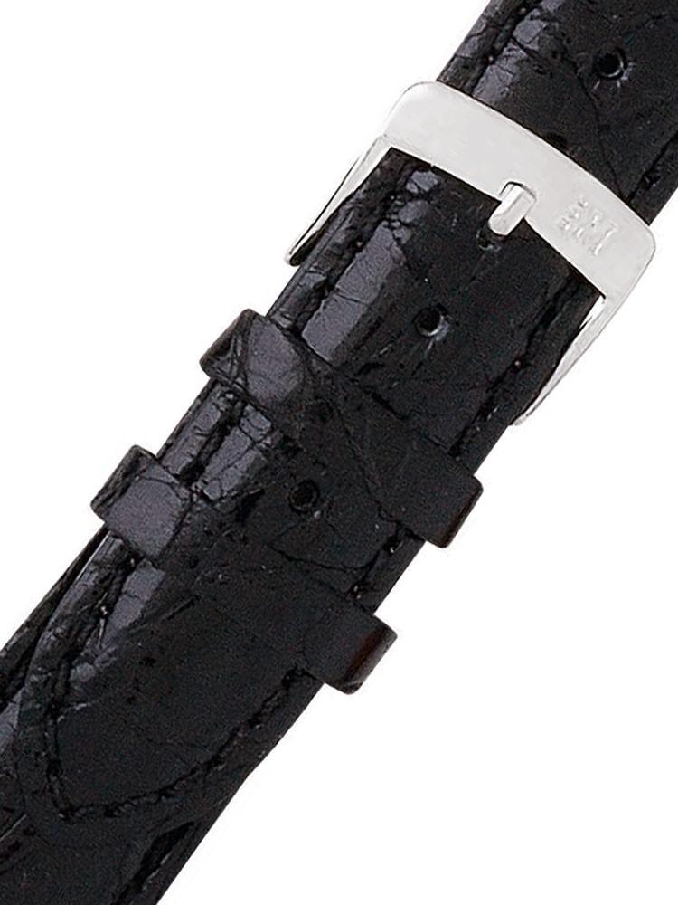 curea de ceas morellato a01u0518339019cr18 schwarzes alligator uhren18mm