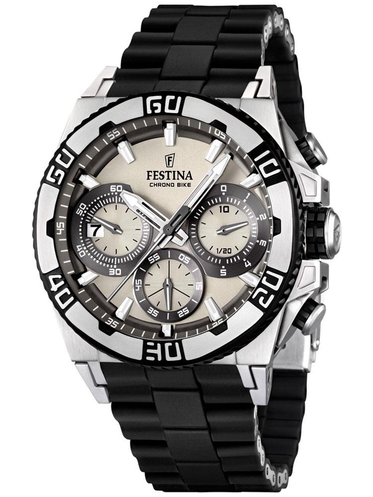 ceas barbatesc festina f16659/1 tour chrono 2013 cronograf