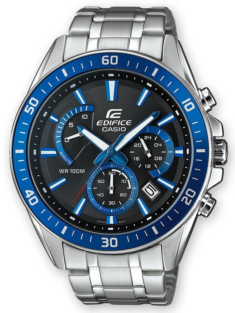 ceas barbatesc casio efr-552d-1a2vuef edifice chrono. 45mm 10atm