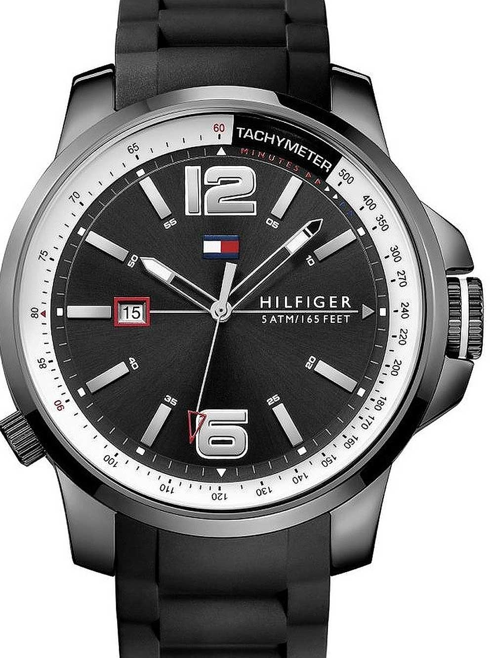 watches chrono12 tommy hilfiger 1791221 herren 46mm 5atm. Black Bedroom Furniture Sets. Home Design Ideas