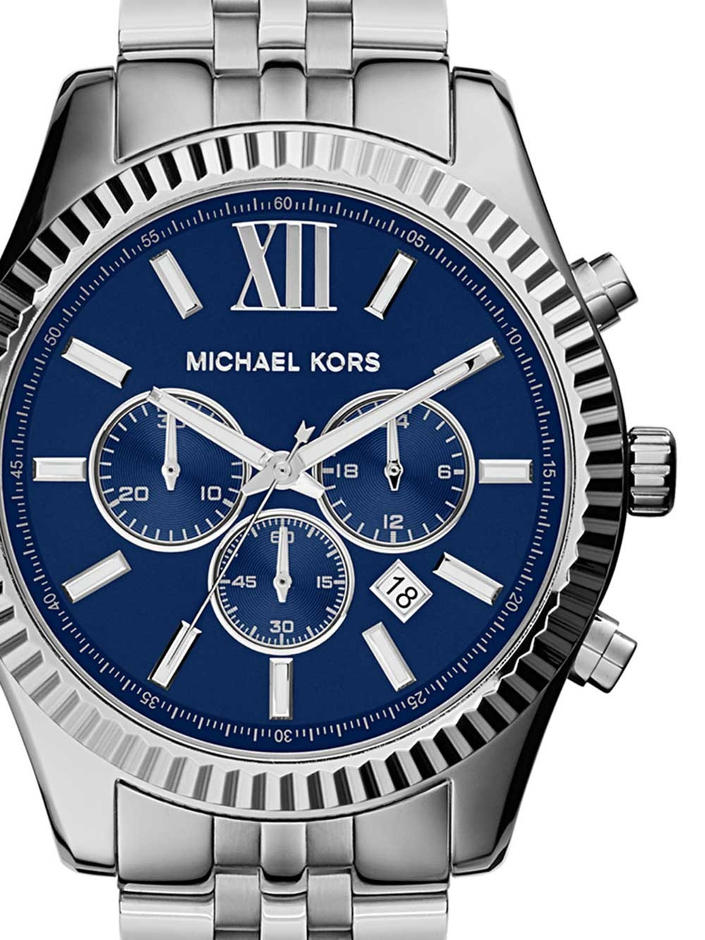 ceas barbati michael kors mk8280 lexington chrono 45mm 10atm