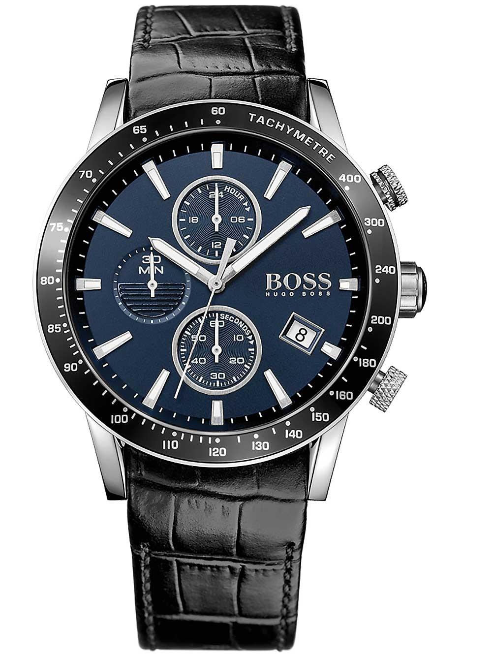 ceas barbatesc hugo boss 1513391 rafale cronograf 44mm 5atm