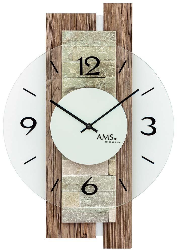 Ceas de perete AMS 9543 modern - Serie: AMS Design