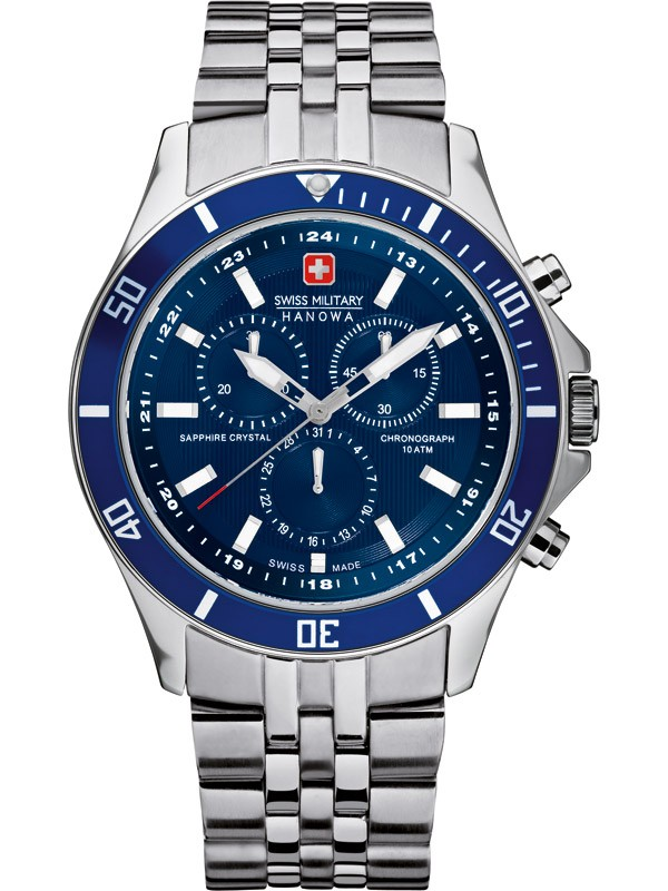 ceas barbatesc swiss military hanowa flagship chrono 06-5183.04.003