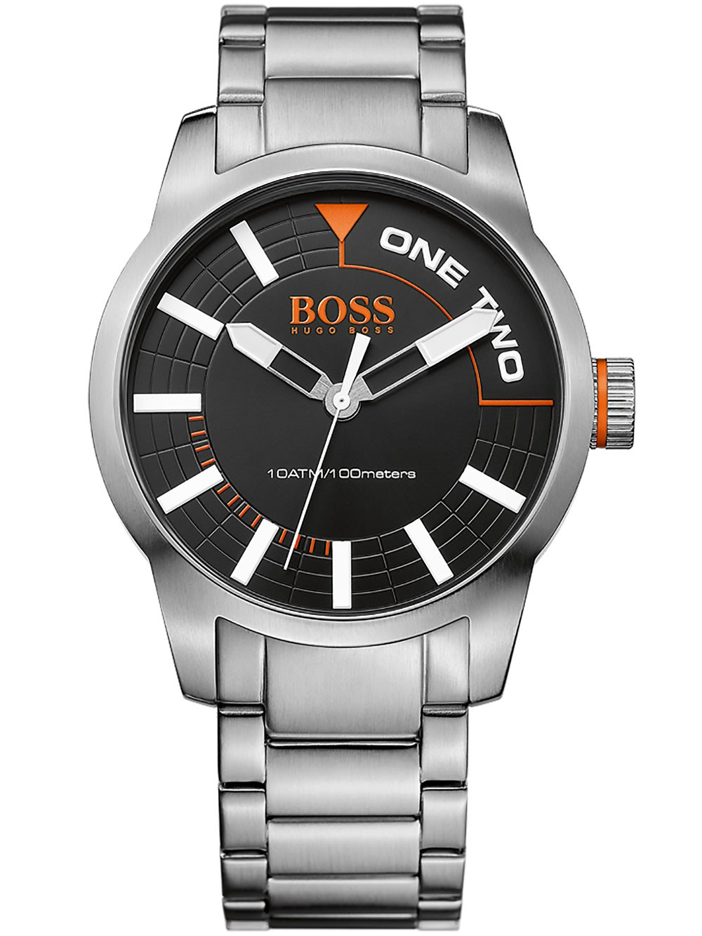 watches chrono12 hugo boss 1513216 tokyo herren 44mm 10atm. Black Bedroom Furniture Sets. Home Design Ideas