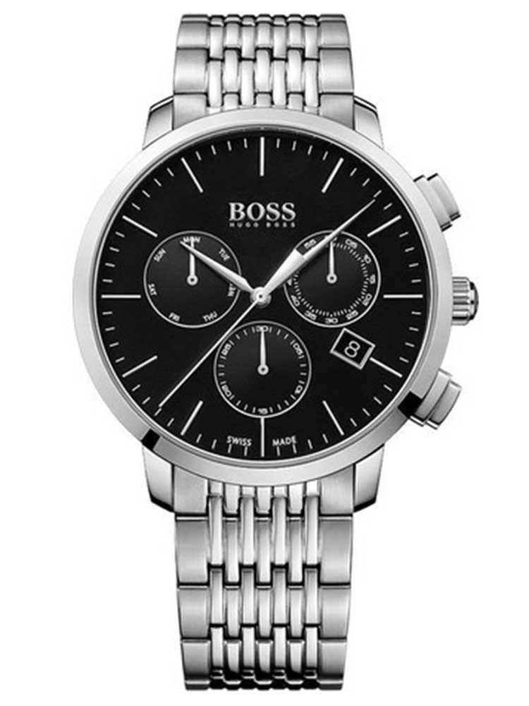 ceas barbatesc hugo boss 1513267 swiss-made chrono 44mm 3atm saphir