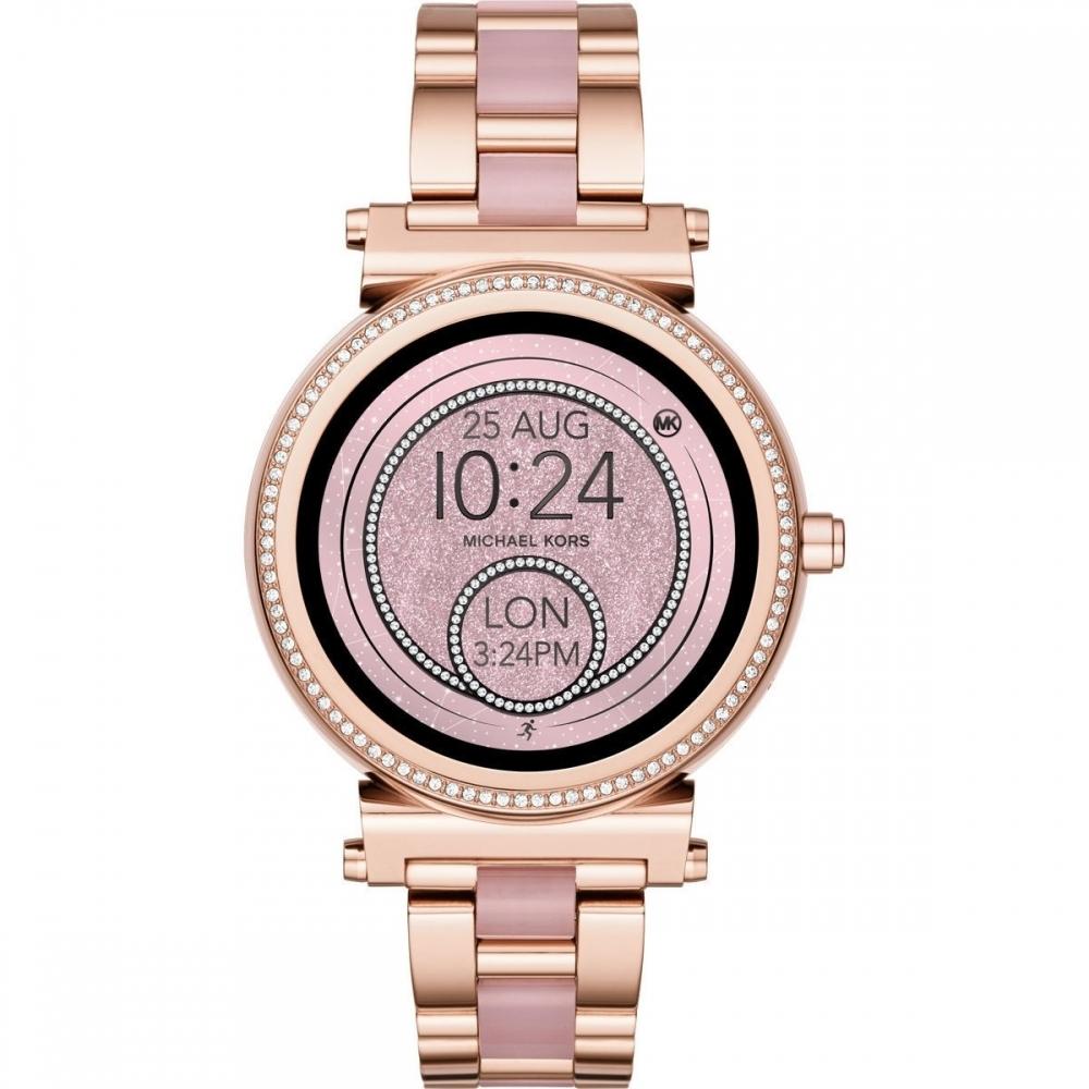 ceas de dama michael kors mkt5041 sofie access smartwatch 42mm 5atm