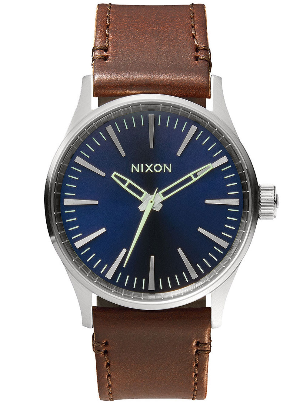 watches chrono12 nixon a377 1524 sentry 38 leather