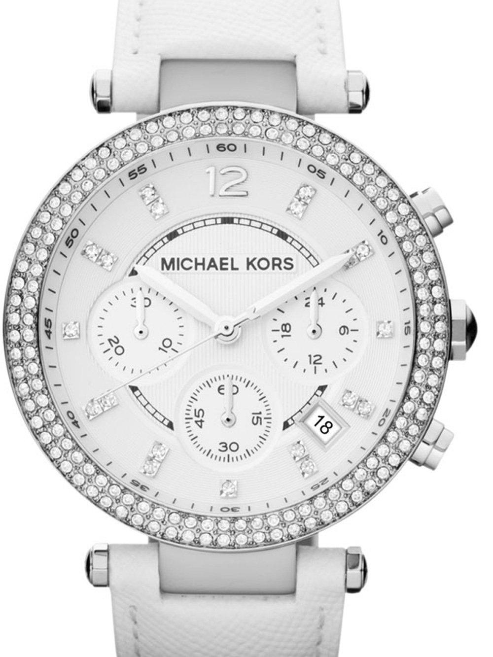 ceas de dama michael kors mk2277 parker chrono. 38mm 10atm
