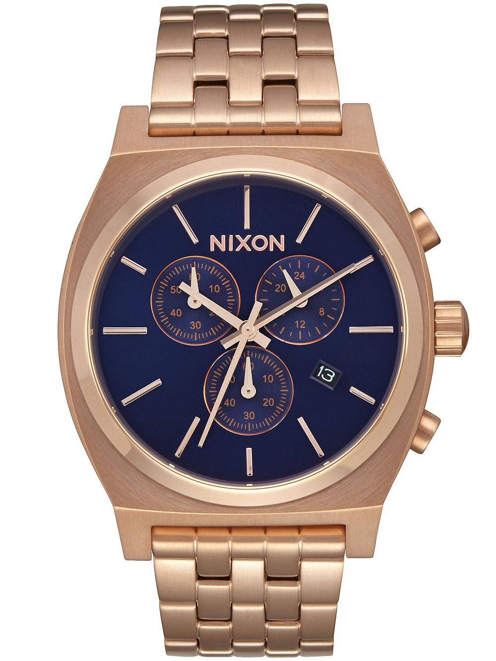 ceas barbatesc nixon a972-2398 time teller chrono 39mm 10atm