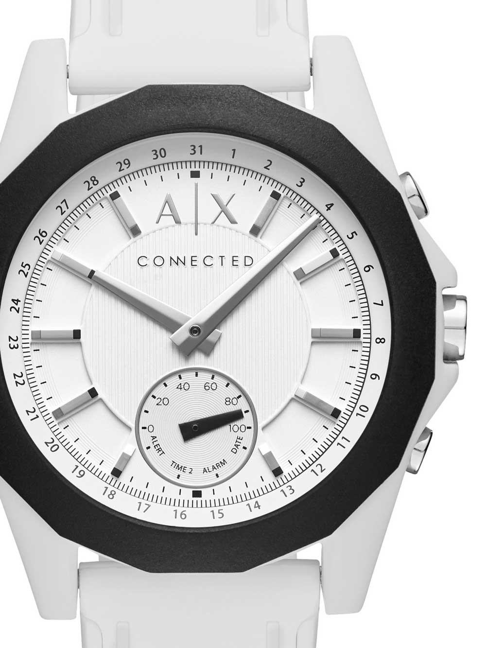 ceas unisex armani exchange axt1000 exchange connected 44mm 5atm
