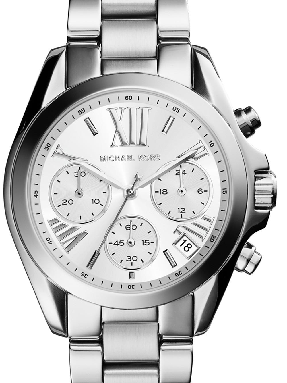 ceas de dama michael kors mk6174 mini bradshaw chrono. 34mm 10atm