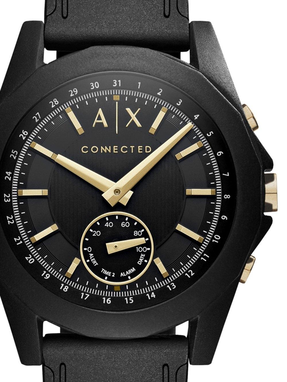 ceas barbatesc armani exchange axt1004 hybrid smartwatch 44mm 5atm