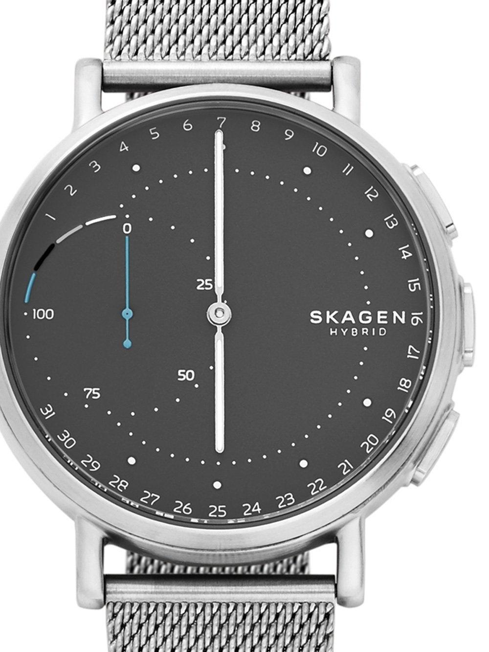 ceas barbatesc skagen skt1113 signatur hybrid smartwatch 42mm 3atm